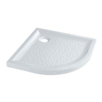 Receveur Extra-plat antiglisse 1/4 rond ROYAN blanc 90cm SELLES