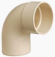Coude mâle/femelle 87°30 tuyau descente diamètre 125mm sable NICOLL