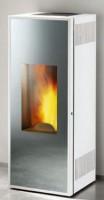 Habillage ICONA MIRROR blanc acier verni kit porte CMG