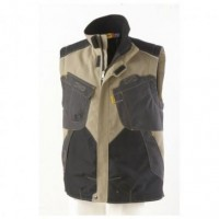 Gilet outforce 2R beige carbone taille M MOLINEL