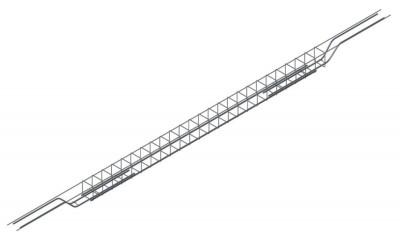 Chevêtre ULYSSE U240/15-16cm épaisseur plancher 20cm SEAC / GUIRAUD FRERES