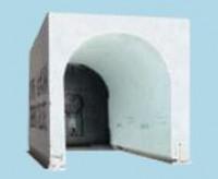 Coffre tunnel THERMIC ELITE 28 2150x2400mm avec volet roulant CG PRO