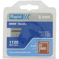 Blister agrafes type 980 980/6G 1,12m RAPID AGRAFAGE