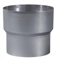 Réduction aluminium diamètre 125/97mm TEN