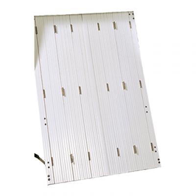Persienne CALIPSO PVC blanc 6 vantaux 83x93cm SOTHOFERM