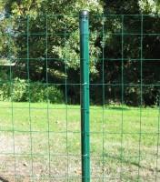 Poteau clôture rond vert UNIVERS diamètre 48mm hauteur 2,00m DIRICKX