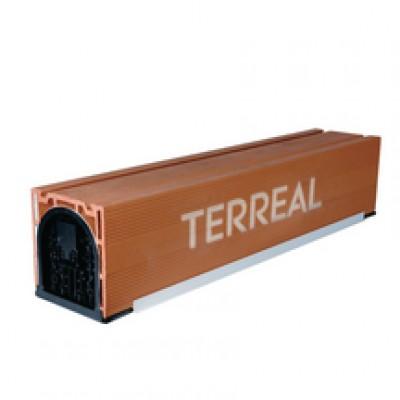 Coffre volet roulant avec sous face 30x30x150cm TERREAL GO DECO