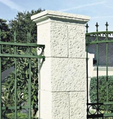 Pilier RENAISSANCE 47x47x33cm ton pierre ORSOL PRODUCTION