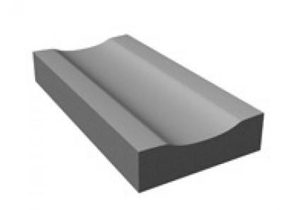 Caniveau CS2 CE NF classe T 1,00ml gris TARTARIN
