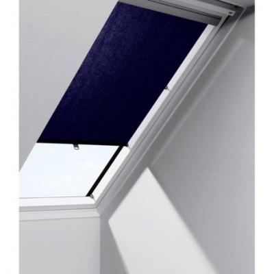 store rideau bleu fonc velux montoire 41800. Black Bedroom Furniture Sets. Home Design Ideas