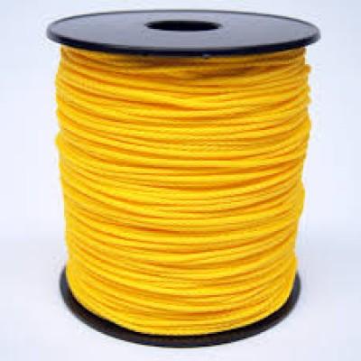Drisse polypropylene 2,8mm jaune bobine CHAPUIS JEAN