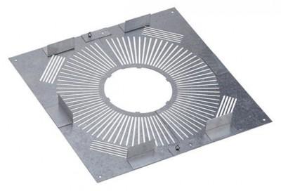 Plaque distance sécurité ventilée 155/230 PDS POUJOULAT