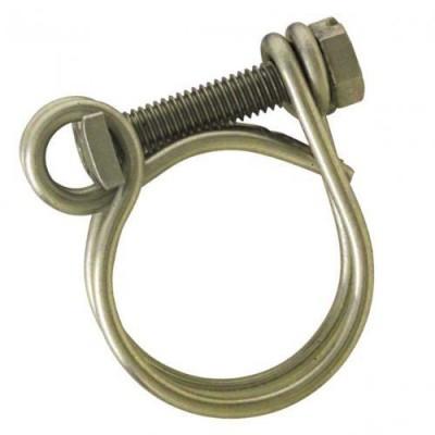 Collier double fils acier 25 31x35 BOUTTE