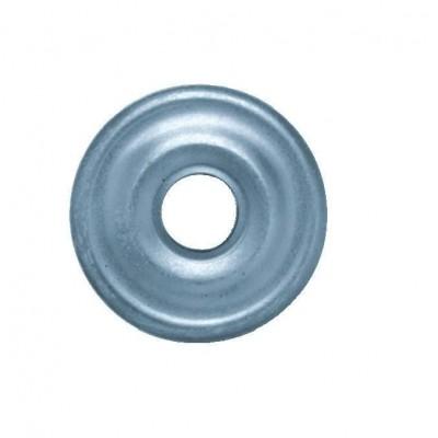 Rosace plate super chromée diamètre 25mm NOYON et THIEBAULT