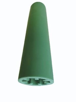 Cône d'entretoise PP vert KONIX polypropylène 18cm sachet de 50 PLAKA GROUP