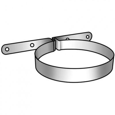 Collier fixation blanc diamètre 150mm UBBINK DISTRIBUTION