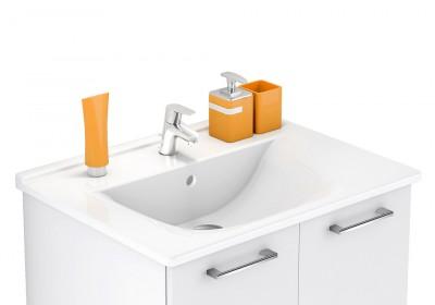 Plan vasque procéram 93cm blanc brillant DELPHA