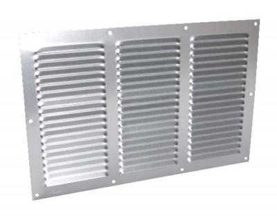 Grilles de ventilation aluminium gris 20x30 NICOLL