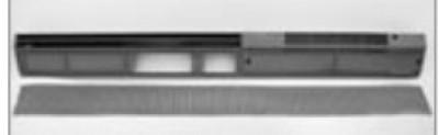 Barre hygroréglables façade 30 DB(A) livrée sans VELUX