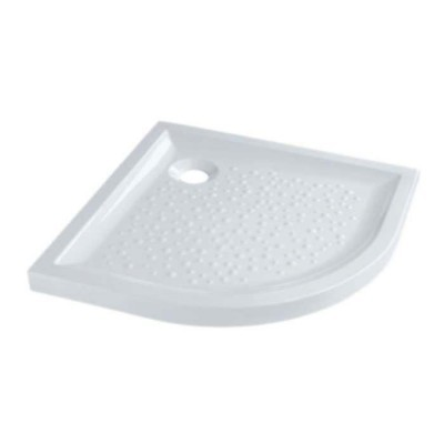 Receveur extra-plat quart de rond blanc SELLES