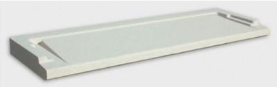 Seuil PMR blanc 130x33.5x3.5cm tableau 120/130 WESER