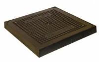 Tampon composite hydraulique carré HERMELOCK 500x500cm 400x400cm BSI