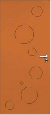 Bloc-porte santorin plaque chêne 204x83cm H72x48mm droite poussant PROSTYL/PROBOPORTE