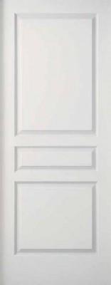 Porte postformé 3 panneaux ALVEOLAIRE entaille scrigno doortech 204x93cm RIGHINI