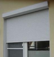 Tablier aluminium gris 7035 avec coulisse sous coffre aluminium FUTUROL INDUSTRIES
