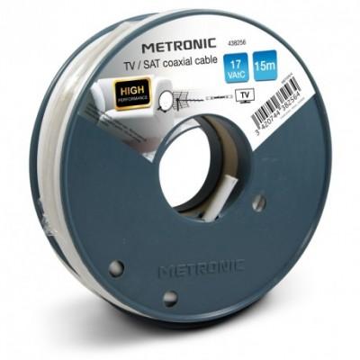 Câble coaxial 15ml METRONIC