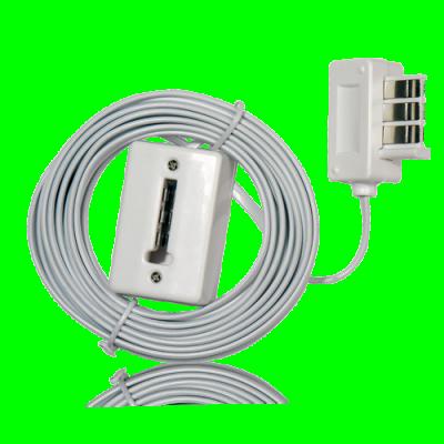 Rallonge téléphone 25m câble lisse EXTEL CFI