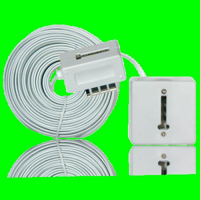 Kit deuxième prise avec câble 25ml EXTEL CFI