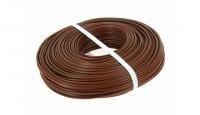 Fil électrique diamètre 2,5mm² marron longueur 100m BRICODEAL