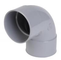 Coude PVC 25 87° femelle femelle gris NICOLL