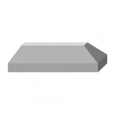 Bordure antipassage béton brut FABEMI / DONZERE AGGLOS