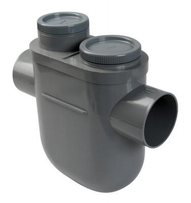 Siphon disconnecteur diamètre 110mm NICOLL