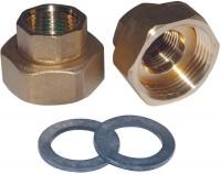 Raccord union laiton/bronze RU-RED-G 2027(X2) SALMSON