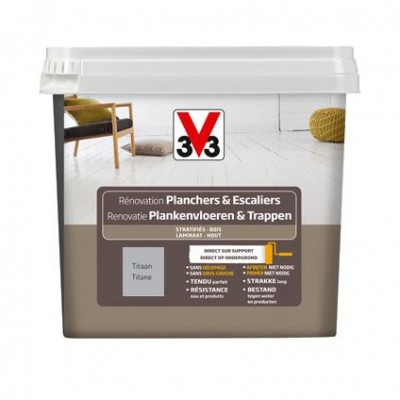 Peinture rénovation plancher/escalier 750ml titane V33 - Chateaudun ...