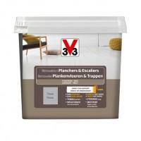 Peinture rénovation plancher/escalier 750ml titane V33