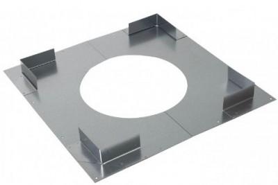 Plaque distance sécurité non ventilé diamètre 230mm POUJOULAT