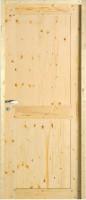 Bloc porte jonte sapin 204x73cm gauche poussant huisserie 92x45 ROZIERE