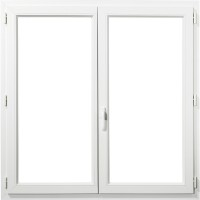 Fenêtre 2 vantaux A70 rénovation profil PVC 1280x850mm FENETRES IND.AVEYRON