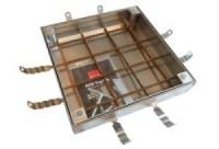 Tampon à carreler galva 60x60 125KN couvercle 70mm ACO PRODUITS POLYMERES