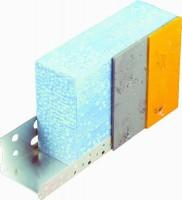 Profile de départ aluminium IPDA120-1 pour isolant 120mm 2,5m LORRAINE PROFILES