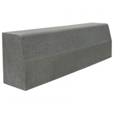 Bordure béton T3 grise classe U + D 1m PLATTARD