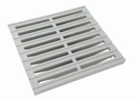 Grille sol 30x30cm grise NICOLL
