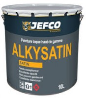 Peinture laque semi-brillante ALKYSATIN base M 4l ALLIOS JEFCO SYLCO