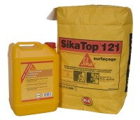 Mortier impermeabilisation SIKATOP 121 SURFACAGE blanc 26.75 SIKA