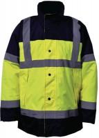 Tee-shirt haute visibilité EN 471 classe 2 taille L NOVIPRO