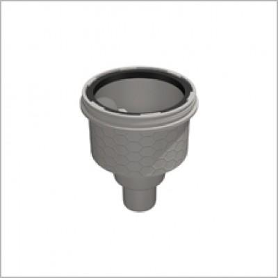TUBE-LINE siphon vertical sans obturateur d'odeurs LUX ELEMENTS